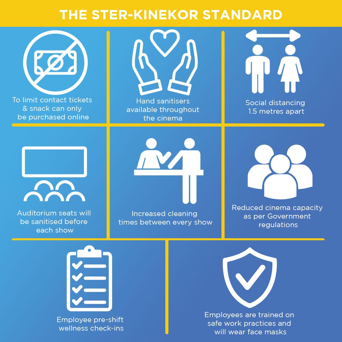 Ster-Kinekor Standard Covid Regulations